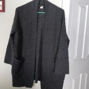 Jcrew open cardigan small